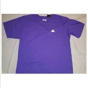 Adidas Mens Purple Tee CV1502